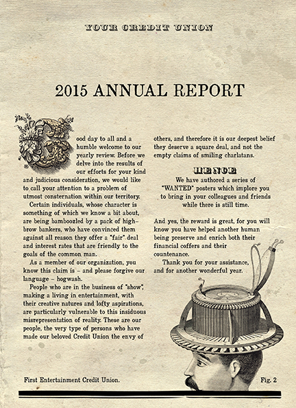 First Entertainment Credit Union Annual Report Michael Albright